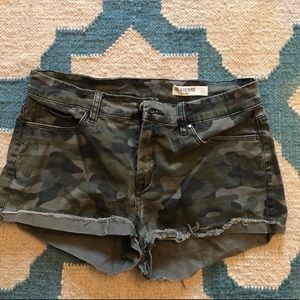 Camp jean shorts